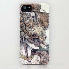 Vulpes Masquerade, now as a print! iPhone SE Slim Case