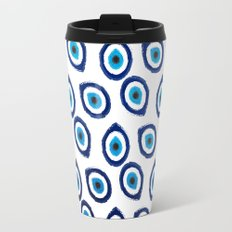 Evil Eye Teardrop Travel Mug
