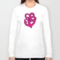 anchor Long Sleeve T-shirts featuring Anchor by Artistic Dyslexia