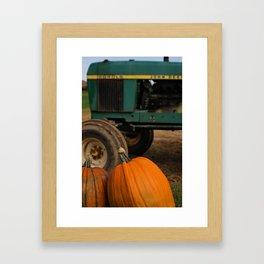 Pumpkin Love Framed Art Print