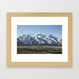 Spring in the Tetons Framed Art Print