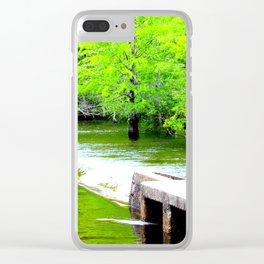 Lake Waccamaw Dam Clear iPhone Case