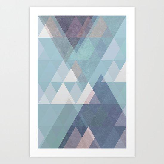 Modern Geometric II Art Print