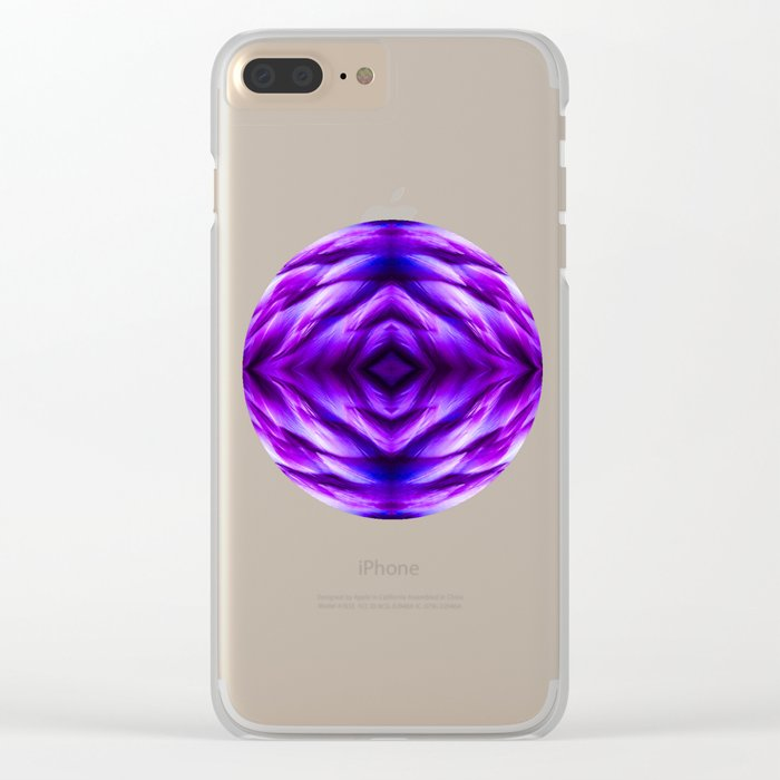 Cyber Monday | Purple Blue Night Clear iPhone Case