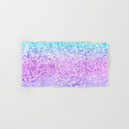Unicorn Girls Glitter #9 #shiny #decor #art #society6 Hand & Bath Towel