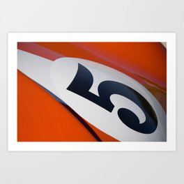 Racer Five Art Print