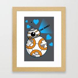 BB Mine Framed Art Print