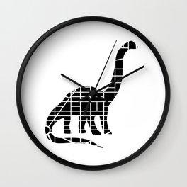 Capitalsaurus Wall Clock