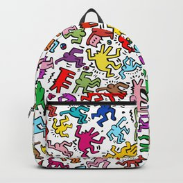 Figures Keith Haring Backpack
