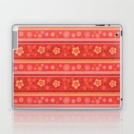 Bright Red Flowers Laptop & iPad Skin