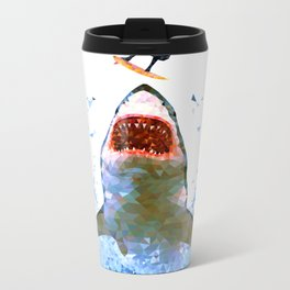 Shark Attack Metal Travel Mug
