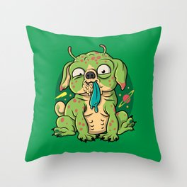 Ugly Pugly Throw Pillow