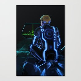 On the Grid pt. 2 Canvas Print