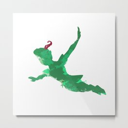 Peter Pan baby  Metal Print