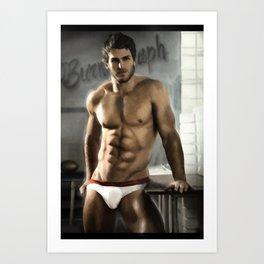 Sexy Men Art Print