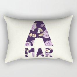 Amar Florido Rectangular Pillow