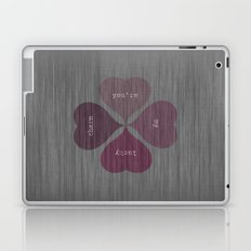 YOU'RE MY LUCKY CHARM  Laptop & iPad Skin