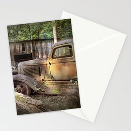 Old Farm Pickup Truck in the Smoky Mountains in Tennessee Stationery Cards