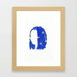 BLK Framed Art Print