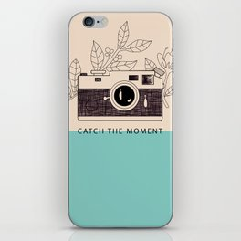 Catch the moment iPhone Skin