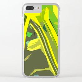 Gratitude Speedway Clear iPhone Case