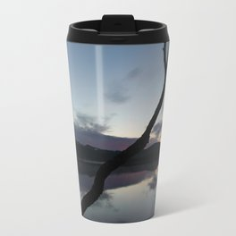 Sunset on lake, Nature Photography, Landscape Photos, sunset photos Travel Mug