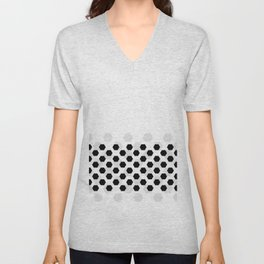 Backgroun of soocer,  football. Traditional sport texture of ball. Unisex V-Neck