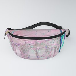 Abstraction of relief Fanny Pack