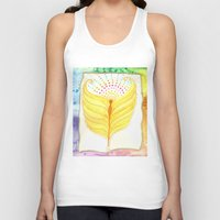 angel wings Tank Tops featuring Angel Wings  by ChristiaSoulArt