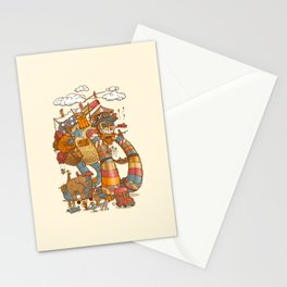 Circusbot Stationery Cards