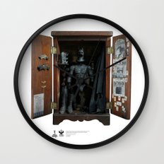 One Sixth Custom Action Figure Toy 08 Wall Clock