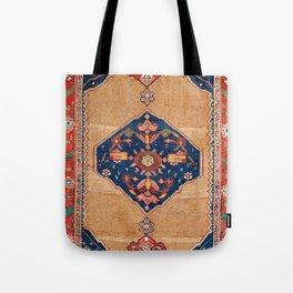 Bijar Kurdish Northwest Persian Rug Print Tote Bag