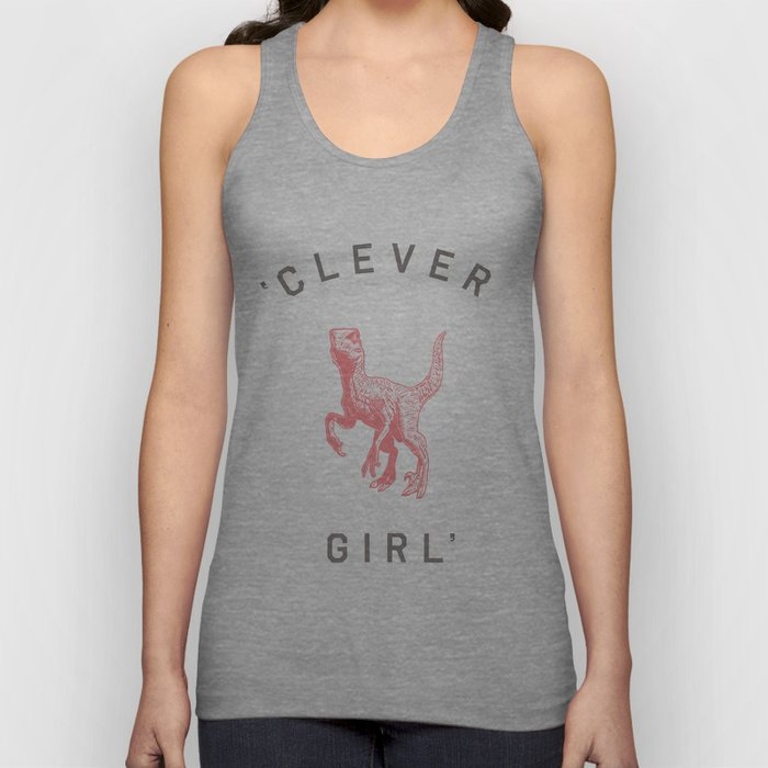 Clever Girl Unisex Tanktop