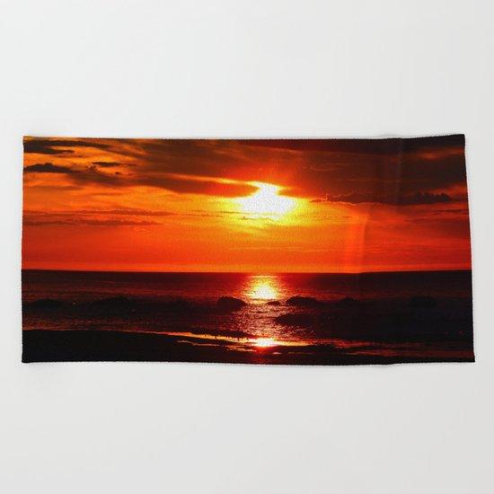 Shine on Twilight Beach Towel
