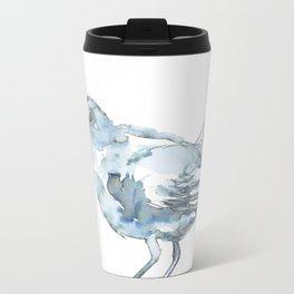 Nightingale Watercolor Sketch Travel Mug