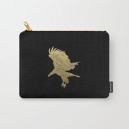 """Golden Boy"" Eagle Design Carry-All Pouch"