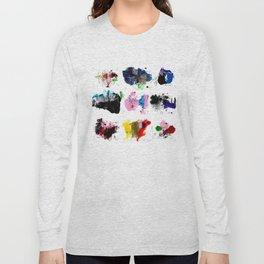 9 abstract rituals (2) Long Sleeve T-shirt