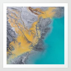 From above #photography #society6 Art Print
