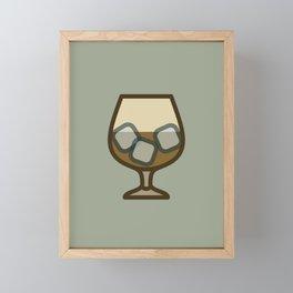 Liquor - Icon Prints: Drinks Series Framed Mini Art Print