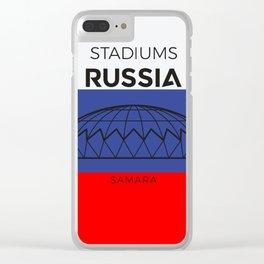 Russia Stadiuns | Samara Clear iPhone Case