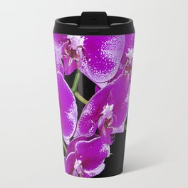 Graceful spray of deep pink orchids Travel Mug