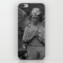 Cemetery Angel Statue iPhone Skin