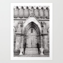 The Doors are but One Way In Art Print