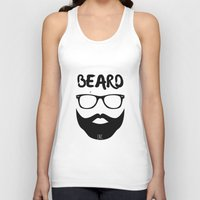 monster inc Tank Tops featuring BEARD INC. by WRDED