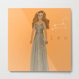 Leo Woman Metal Print