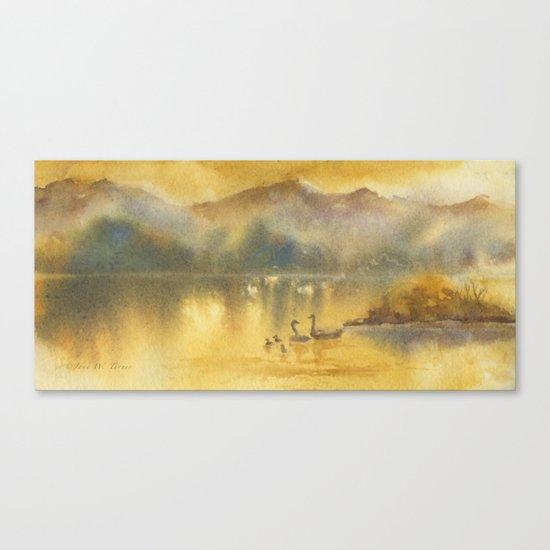 Golden Sunrise Canvas Print