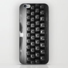 in black and white iPhone & iPod Skin