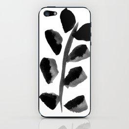 Black Fern iPhone Skin