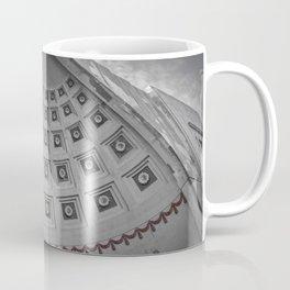 Ohio State Football Stadium Black White Print Coffee Mug