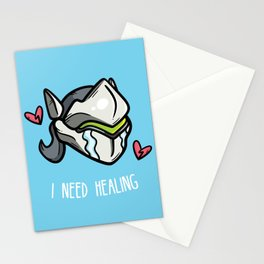 I Need Healing Stationery Cards